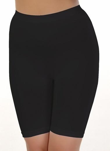 Miaju Miaju Uzun Boxer & Soft Siyah